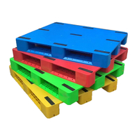 Heavy Duty New Type HDPE Single Face Flat Rackable Plastic Pallet