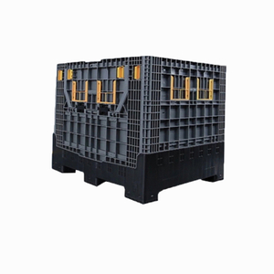Heavy Duty Industry Storage Folding Plastic Container