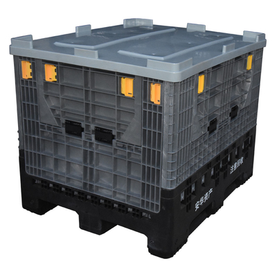 Large Heavy Duty Stackable Folding Plastic Pallet Box